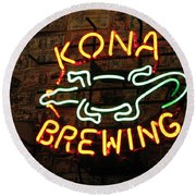 Kona Brewing Company Round Beach Towel