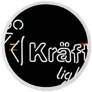Kraftig Edited Round Beach Towel