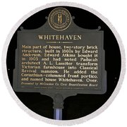 Ky-1754 Whitehaven Round Beach Towel