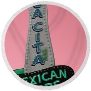 La Cita Round Beach Towel