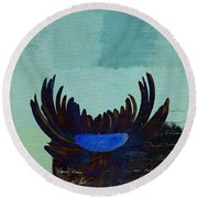 La Marguerite - 140182085-c2bt1a Round Beach Towel