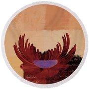 La Marguerite - 140182085-cy02b Round Beach Towel