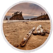 La Push Round Beach Towel