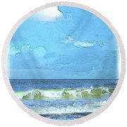 Lacount Hollow Round Beach Towel