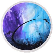 Lagoon Round Beach Towel