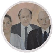 Lahoud Family Round Beach Towel