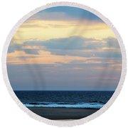 Lake Michigan Round Beach Towel