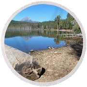 Lake Of The Woods 6 Round Beach Towel