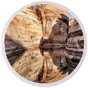 Lake Powell - Page Az Round Beach Towel