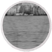 Lake Superior At Pictured Rocks Round Beach Towel