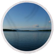 Lake Umbagog Round Beach Towel