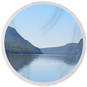 Lake Willoughby From North Shore Round Beach Towel