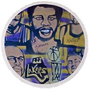 Laker Love Round Beach Towel