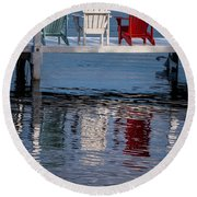 Lakeside Living Number 2 Round Beach Towel