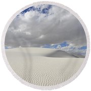 New Mexico Land Of Dreams 3 Round Beach Towel