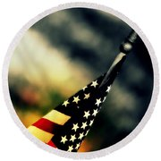 Land Of The Free - 2 Round Beach Towel