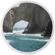 Lands End Beach - Cabo San Lucas Mexico Round Beach Towel