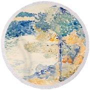 Landscape. Saint Clair Round Beach Towel