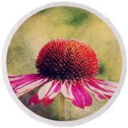 Last Summer Feeling Round Beach Towel by Angela Doelling AD DESIGN Photo and PhotoArt