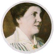 Laura Ingalls Wilder (1867-1957) Round Beach Towel