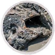 Lava Creation Round Beach Towel