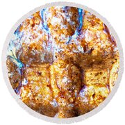 Laws Of Illusion Round Beach Towel