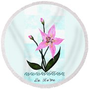 Le Reve The Dream 2 Round Beach Towel