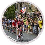 Le Tour De France 2014 - 4 Round Beach Towel