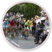 Le Tour De France 2014 - 5 Round Beach Towel