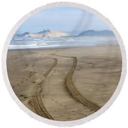 Leading To The Cape Round Beach Towel