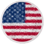 Legalize This Flag Round Beach Towel