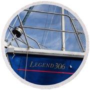 Legend 306 Round Beach Towel