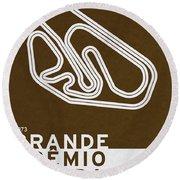 Legendary Races - 1973 Grande Premio Do Brasil Round Beach Towel