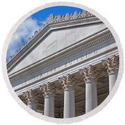 Legislative Building - Olympia Washington Round Beach Towel