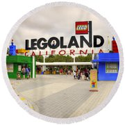 Legoland California Round Beach Towel
