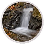 Lepetit Waterfall Round Beach Towel