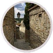 Les Baux De Provence France Dsc01926  Round Beach Towel
