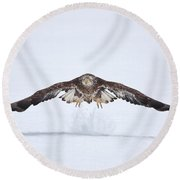 Let The Snow Fly Round Beach Towel