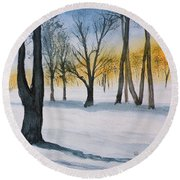 Letchworth State Park Ny Round Beach Towel