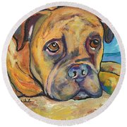 Lexie Round Beach Towel