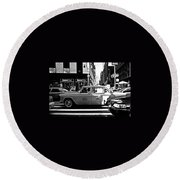 Lexington Avenue Round Beach Towel