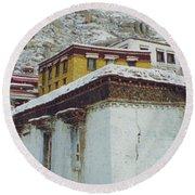 Lhasa Tibet 1 By Jrr Round Beach Towel