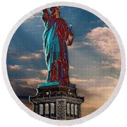 Liberty For All Round Beach Towel