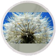 Life In Details Round Beach Towel