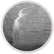 Life Is Round Beach Towel