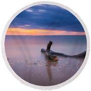 Life Of A Drifter 16x7 Crop Round Beach Towel