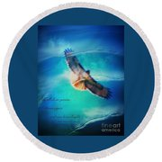 Life Reflects Our Passion Round Beach Towel