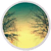Like Destiny Round Beach Towel