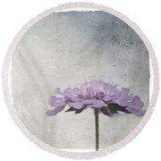 Lilac Round Beach Towel