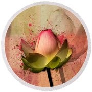 Lily My Lovely - S03d4 Round Beach Towel